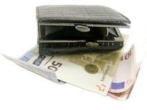 Bourse et argent Images libres de droits