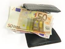 Bourse et argent Photo libre de droits
