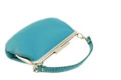 Bourse féminine de turquoise Photos stock