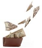 Bourse heureuse image libre de droits