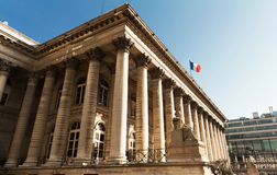 The Bourse of Paris, France. Royalty Free Stock Photography