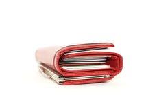 Bourse rouge Photographie stock libre de droits