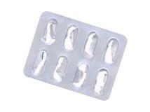 Boursouflure vide de pilule Photos libres de droits