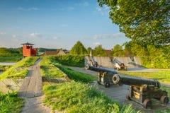 Bourtange, Gewehr-Stellung Lizenzfreie Stockfotografie