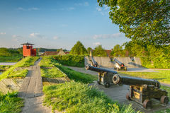 Bourtange, Gun emplacement Royalty Free Stock Photography
