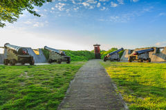 Bourtange, Gun emplacement Royalty Free Stock Image