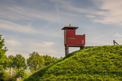 Bourtange,  observation post Royalty Free Stock Photography