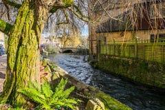 Bourton auf dem Wasser Lizenzfreie Stockfotografie