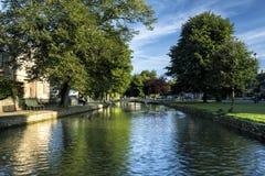 Bourton auf dem Wasser Lizenzfreies Stockfoto