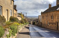 Bourton-on-the-Hill Stock Photo