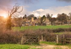 Bourton-on-the-Hill Royalty Free Stock Image