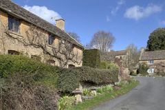 Bourton-sur-le-colline Photographie stock