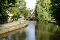 Bourton on the water Royalty Free Stock Photos