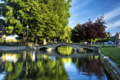 Bourton on the Water Royalty Free Stock Photography