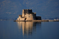 Bourtzi Castle Stock Image