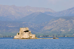 Bourtzi castle in nafplio greece Stock Photos