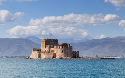 Bourtzi Castle, Nafplio, Greece Royalty Free Stock Photography