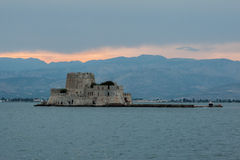 Bourtzi Castle Nafplio Greece Stock Photo