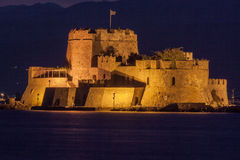 Bourtzi Castle Nafplio Greece Stock Images
