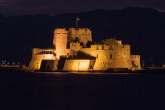Bourtzi Castle Nafplio Greece Royalty Free Stock Photo
