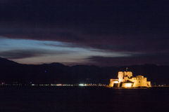 Bourtzi Castle Nafplio Greece Royalty Free Stock Images