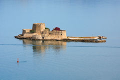 Bourtzi castle, Peloponnese, Greece. Stock Photography