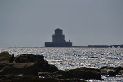 Bourtzi, Methoni Schloss Stockbild