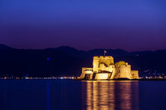 Bourtzi Nafplion Stock Images