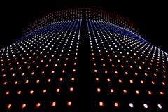 Bout droit des lumières de LED Images libres de droits