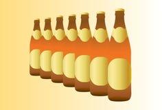 bouteille à bière Illustration Stock