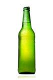 bouteille à bière d'isolement photos stock