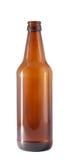 Bouteille à bière en verre foncé. Photos libres de droits