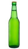 Bouteille à bière verte Images libres de droits