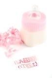 Bouteille à lait de bébé Images stock