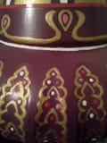 Bouteille 1964 antique peinte Images stock