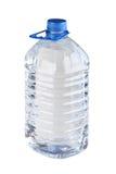 Bouteille avec de l'eau Images stock