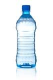 Bouteille avec de l'eau Image stock
