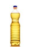 Bouteille avec de l'huile. images libres de droits