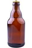 Bouteille à bière de Brown (bière allemande) Images libres de droits