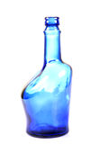 Bouteille bleue Photographie stock