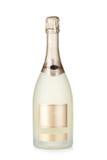 Bouteille brut de Champagne images libres de droits