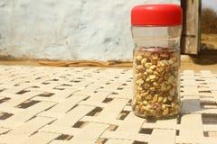 Bouteille d'arachides Photographie stock libre de droits