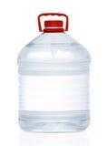 Bouteille d'eau en plastique Photographie stock libre de droits