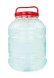 Bouteille d'eau en plastique Images stock