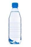 Bouteille d'eau sur le blanc Image stock