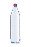 Bouteille d'eau sur le blanc Images libres de droits