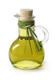 Bouteille d'huile d'olive Images libres de droits