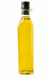 Bouteille d'huile d'olive photo stock