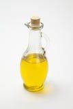 Bouteille d'huile d'olive d'isolement sur… Photos stock