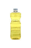 Bouteille d'huile de cuisine Photographie stock
